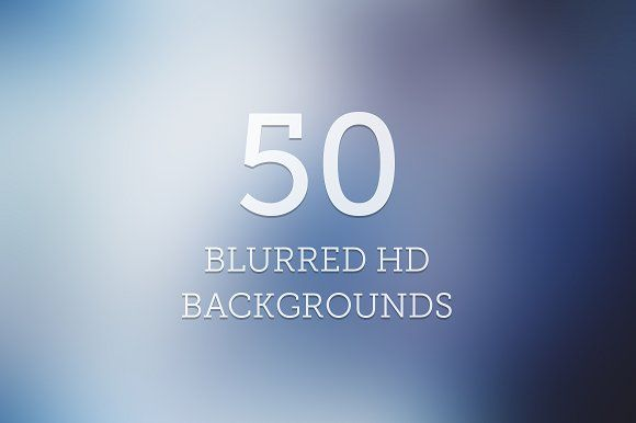 50 Blurred HD Backgrounds by Creative Stall on @creativemarket