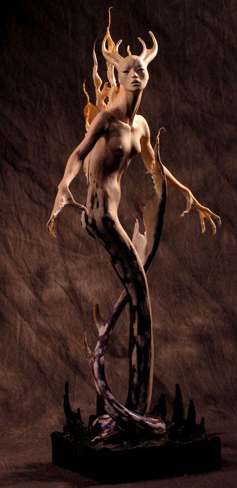 Sculptures by ForestRogers on deviantART