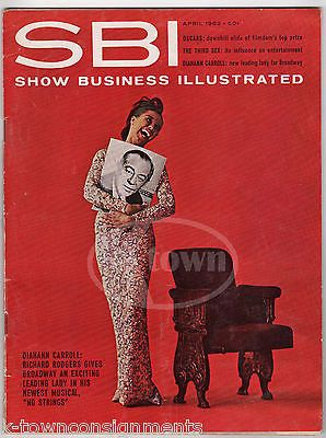HUGH HEFNER RODGERS & CARROLL VINTAGE SMALL BUSINESS ILLUSTRATED MAGAZINE 1962