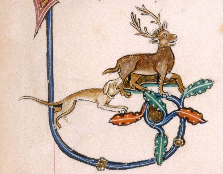 The Gorleston Psalter Date 1310-1324 Add MS 49622 Folio 45r