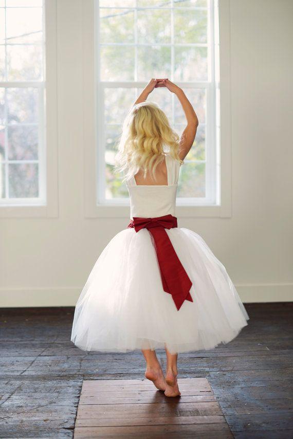 Flower Girl Tutu Skirt Dressor Bridesmaid Adult And Child Sizes In