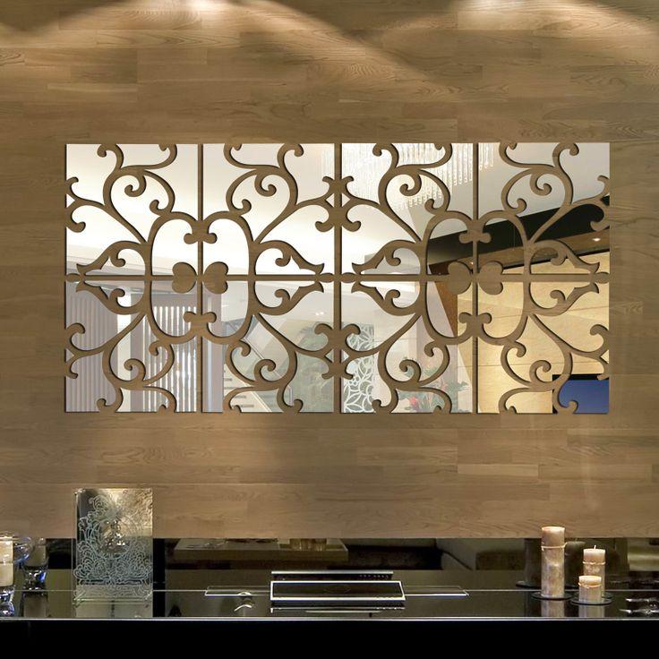 Alibaba グループ | AliExpress.comの ウォール ステッカー からの 私たちの店へようこそ 卸売サポートシングル以上お買い上げの量以上500元、 数や以上に達している50セット混合することができるああ!に行って下さいアルバムスタイルの良い選択 中の Diy 32 ピース/セット 3d ミラー壁の ステッカー アクリル壁画大きな ステッカー ホーム装飾壁ステッカー espelhos decorativos 30 × 120 センチ