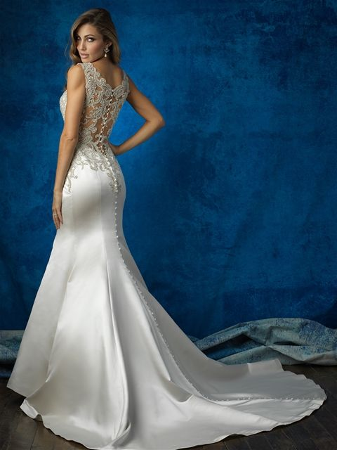 Allure Bridals Style 9362. Available at Debra's Bridal Shop at the Avenues. Call us for your consultant appointment at 904-519-9900.