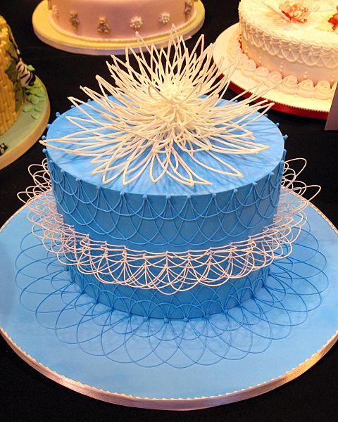 String work to make you wonder! CAKE 2012 at the NEC ...