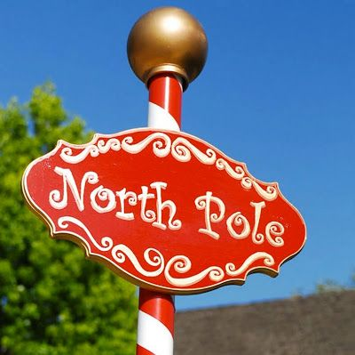 DAVE LOWE DESIGN the Blog: North Pole Sign