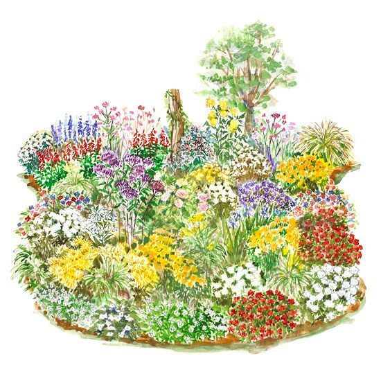 254 best garden graphics images on pinterest for Easy care flowers for garden