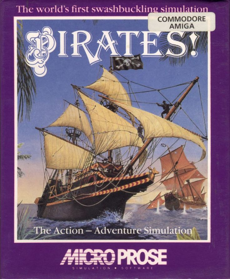 Sid Meier's Pirates! (Microprose, 1990)