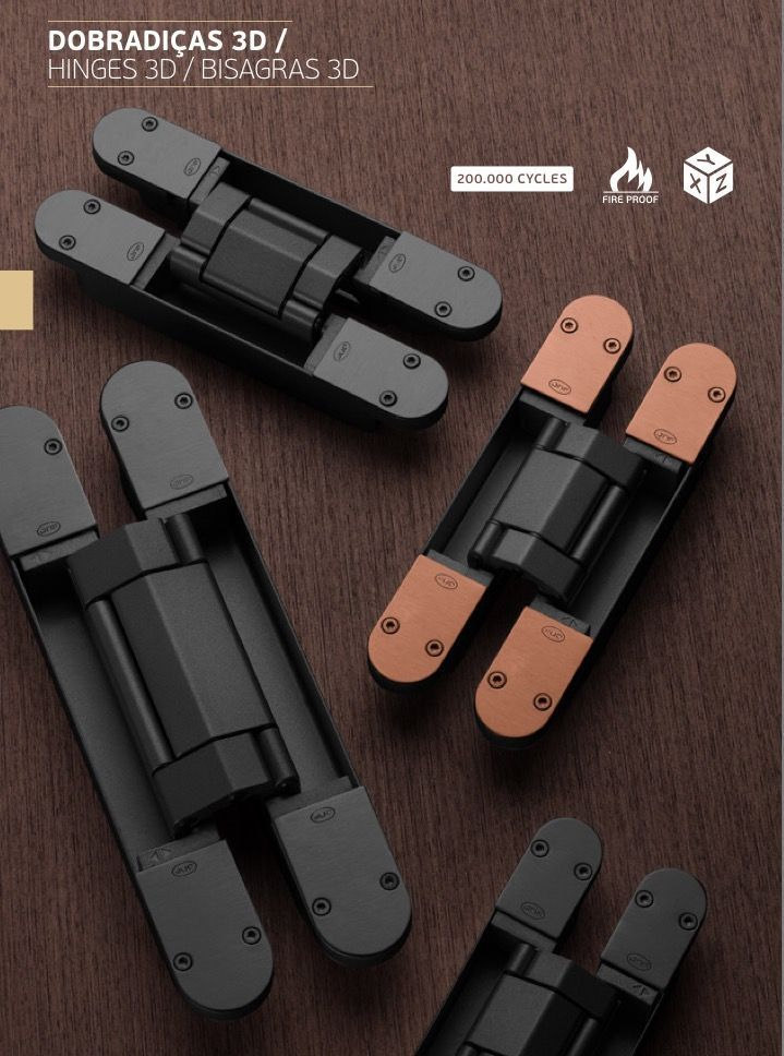 Coplan Hinge By Jnf Invisible And 3 D Adjustable In Black Or Gray With Color Caps In Black Adjustable Black Caps In 2020 Door Design Modern Door Design Design