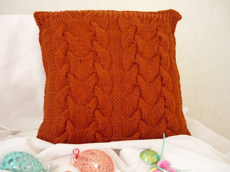 Decorative pillow case from MariArt by DaWanda.com #MariAndAnnieArt #pillow