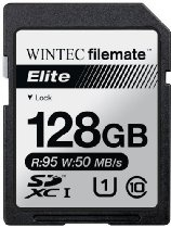 Filemate Wintec Filemate Elite 128GB UHS-I U1 SDXC C10 Card - #128GB #SDXC