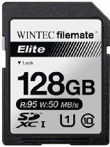 Filemate Wintec Filemate Elite 128GB UHS-I U1 SDXC C10 Card - #128GB #SDXC