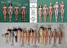 Comparison photos of dolls and 1/ 6 scale figures - My Flickr Year 2013 tag game | Flickr - Photo Sharing!