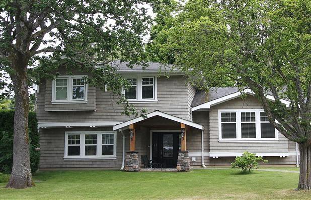 Renovations Transform 1960s Oak Bay Home Exterior Idea