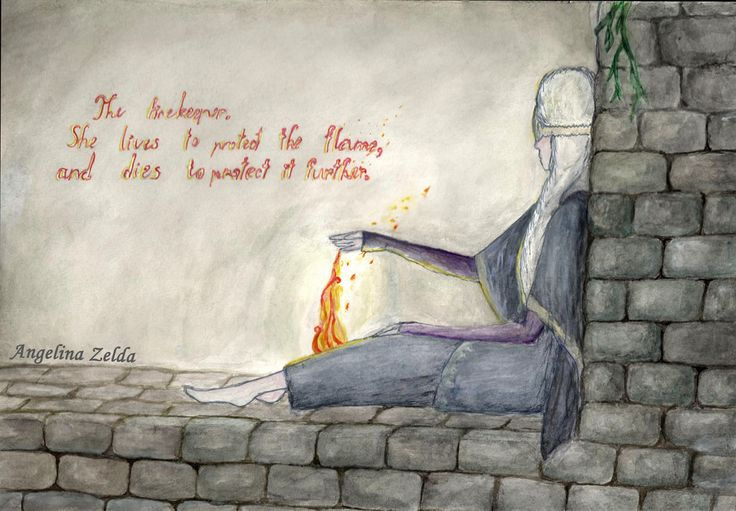 Firekeeper | Dark souls 3 #AngelZArt  #DarkSouls #Firekeeper