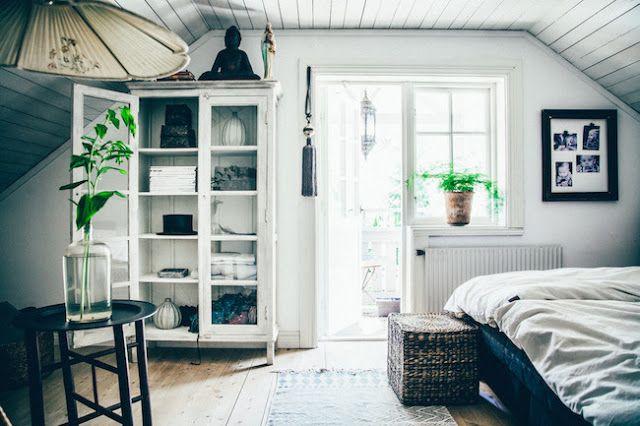 Suède / La maison d'une fleuriste /