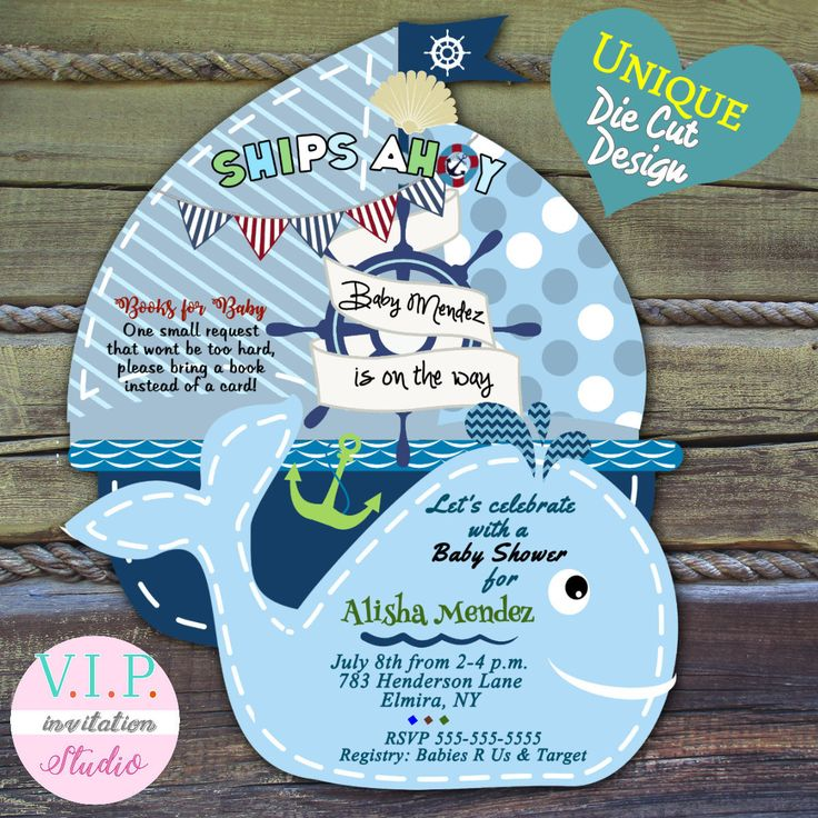 baby shower invitation wording for bringing diapers%0A whale baby shower invitation  boy nautical baby shower invitations  whale baby  shower invitation