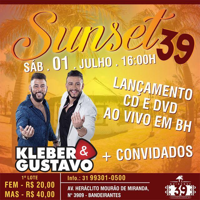 MAPA DA CULTURA: MG: Kleber e Gustavo se apresentam em Belo Horizonte e lançam o seu primeiro DVD da carreira (01/07)