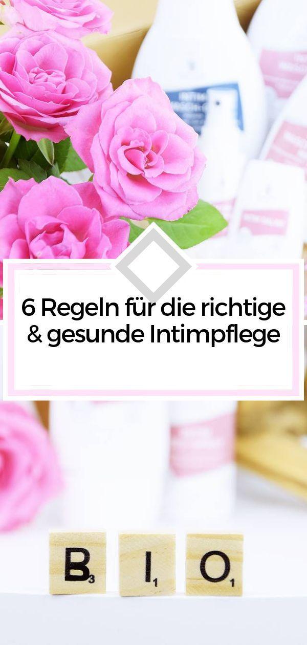 Anzeige 6 Regeln Fur Die Richtige Gesunde Intimpflege Calistas Traum Intimpflege Intim Naturkosmetik