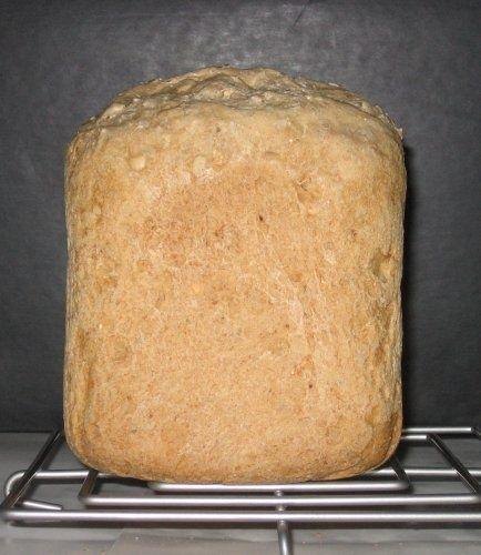 0017. chléb celozrnný s vločkami - recept pro domácí pekárnu