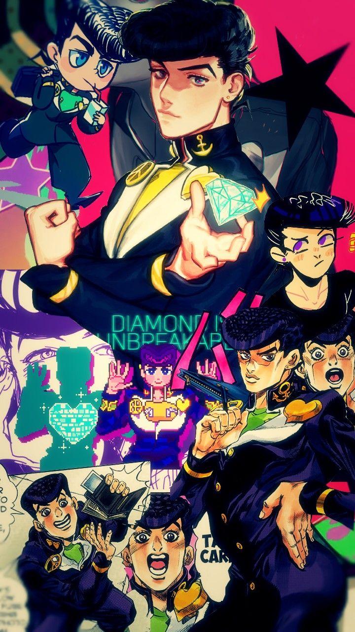 Josuke Higashikata Wallpaper Jojo Anime Jojo Bizarre Jojo S Bizarre Adventure