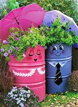 I loved the idea !!!! would also make great garbage  cans