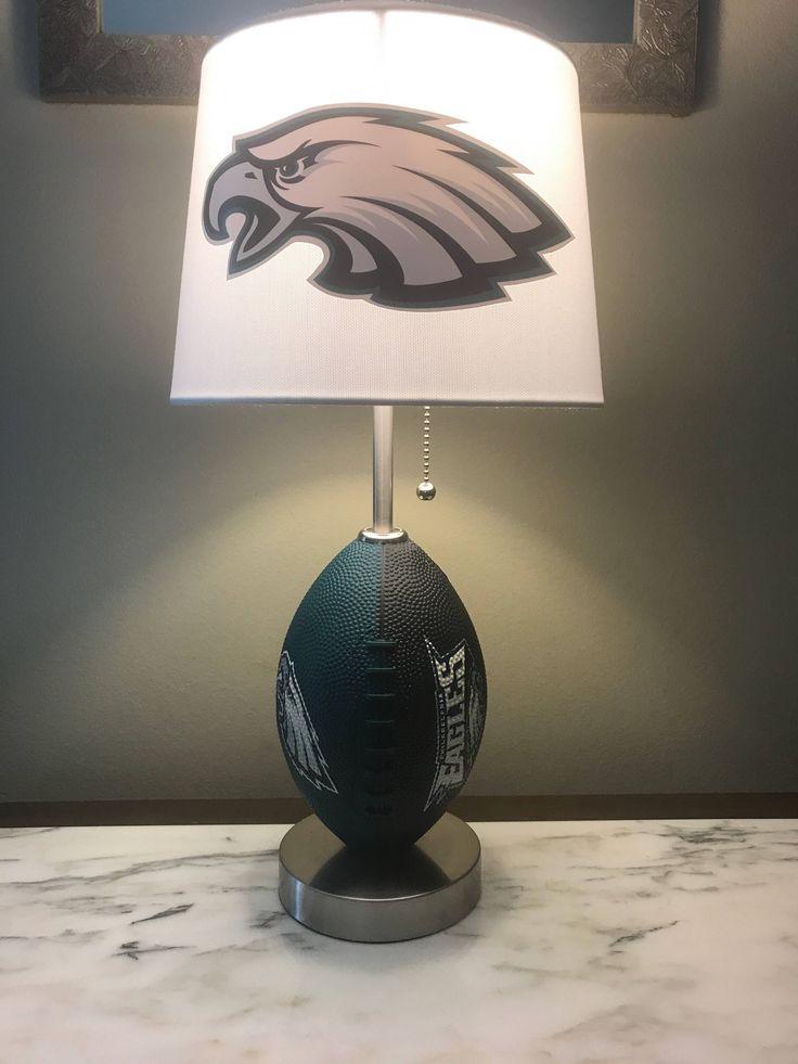 Philadelphia Eagles football Lamp. Nfl sports team. Made by thatlampguy by thatlampguyGraz on Etsy https://www.etsy.com/listing/183221898/philadelphia-eagles-football-lamp-nfl
