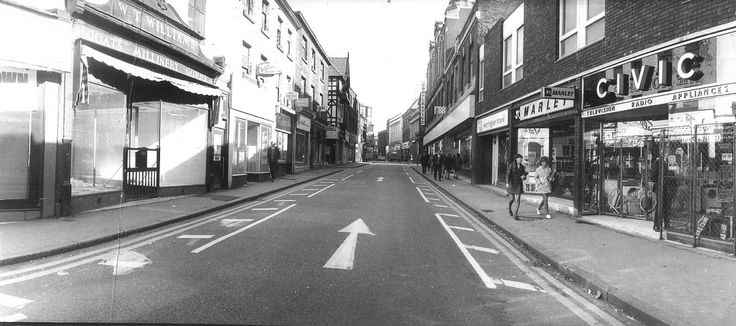 WITH the ongoing transformation of Bridge Street and the market area, we are looking at the work to change Warrington town centre in the 1970s.