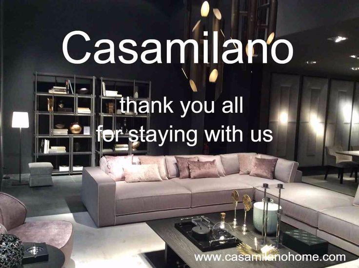 Join us at Casamilano showroom, open by appointment only,  Via Uberto Visconti di Modrone 21, corner of Via Borgogna, Milan. Phone +39.0362.340499 info@casamilanohome.com