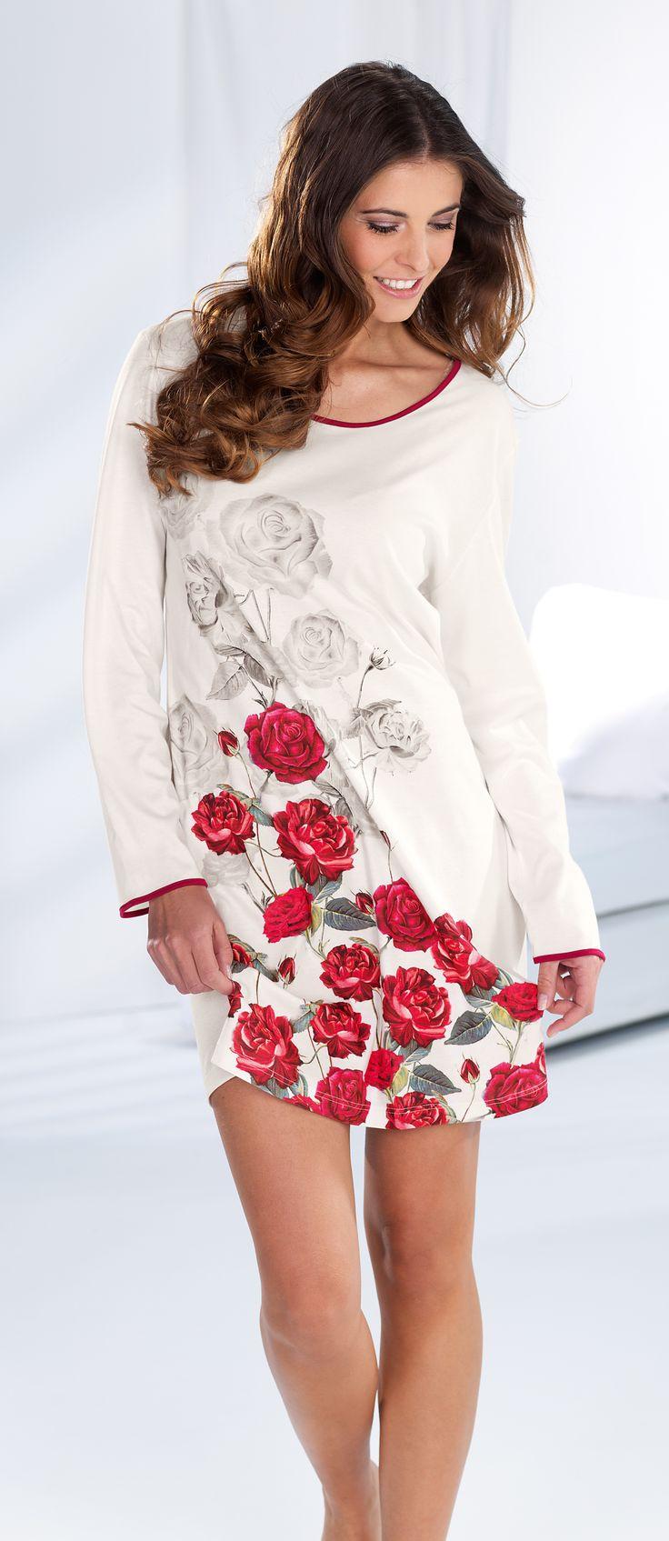 CYBÈLE Podzim-Zima 2016/2017   Noční prádlo   Noční košile   Nightwear   Nightdress   www.naturana-plavky-pradlo.cz