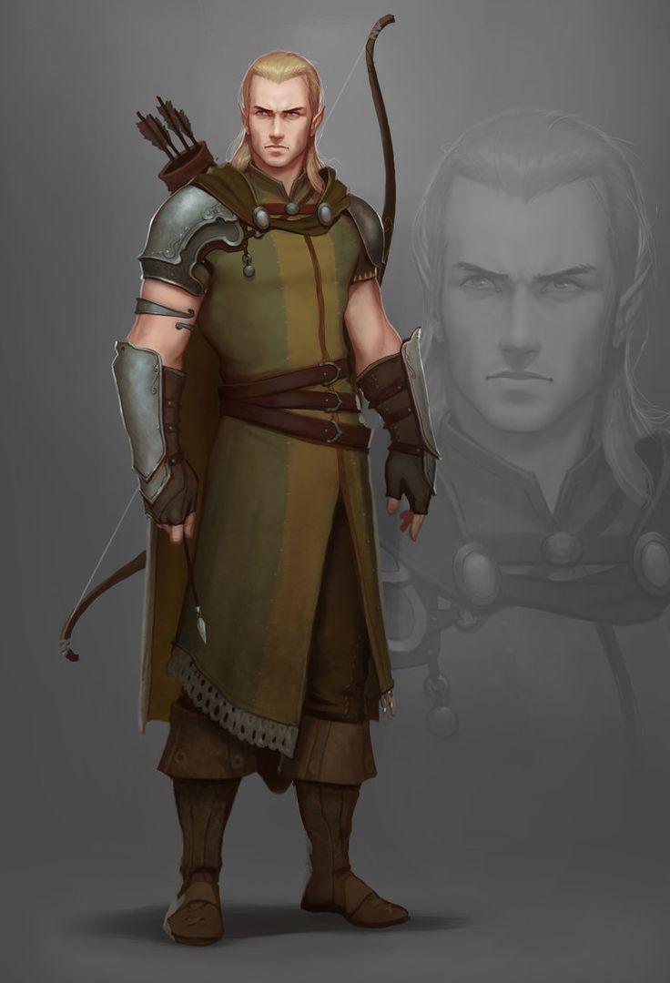 Elfe ♂ - Archer