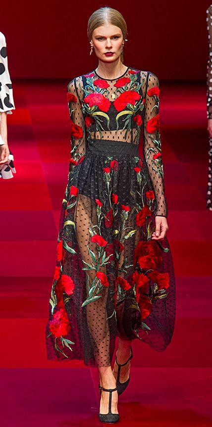 Runway Looks We Love: Dolce & Gabbana #InStyle