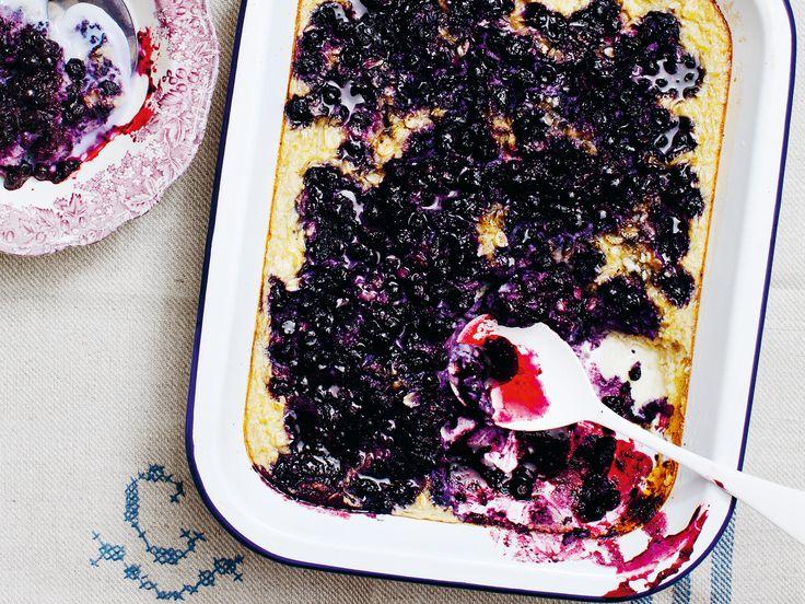 Bakad blåbärsgröt | Recept från Köket.se
