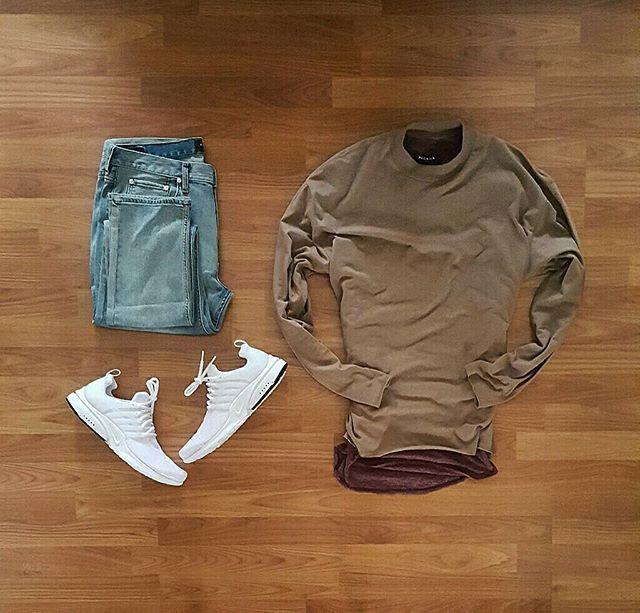 Shirts and Denim: @pacsun Kicks: @nike Air Presto