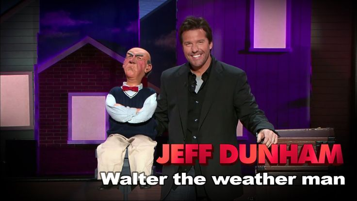 """MEET WALTER.....as """"Walter the weather man"""" 