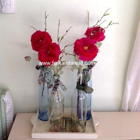 tutorial de arranjos de flores. artificiais - Bing Imagens