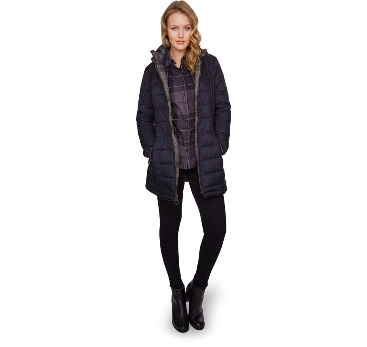 Stonehaven Quilted Jacket from the Winter Tartan collection Barbour Lifestyle