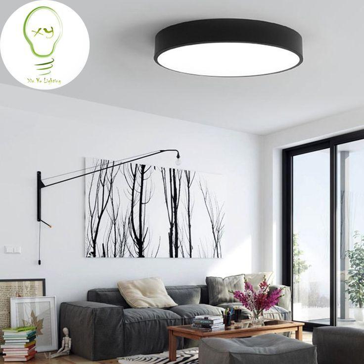 Moderne Led Deckenleuchte Roundmodern Led Deckenleuchte Round Simple De Study Din Deckenleuchte Wohnzimmerlampe Deckenleuchte Wohnzimmer Deckenleuchten
