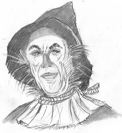 8x11 girl scarecrow coloring pages | How to Draw Oz | John Wizard of Oz Scarecrow drawing ...