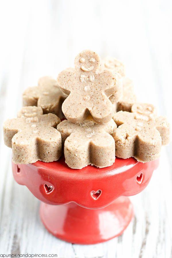 Gingerbread Sugar Scrub Cubes - A Pumpkin And A Princess