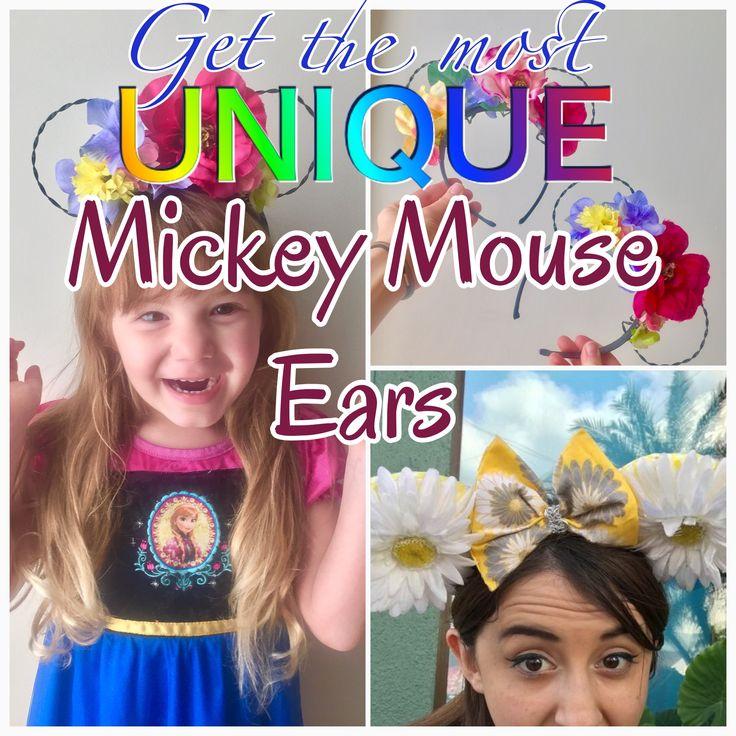 Unique & inexpensive Mickey Ears