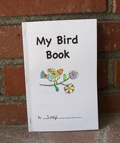 Free Printable Bird Book for Birding with Kids - Buggy and Buddy