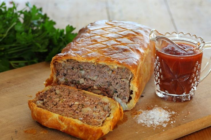Traditional Tomato Meatloaf Baked In Pastry - Maggie Beer