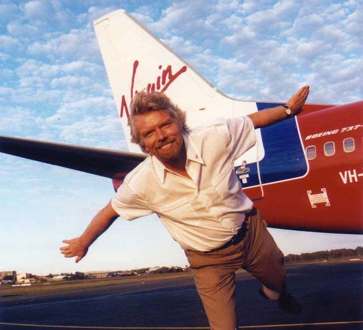 """You learn by doing and by falling over"" Richard Branson"