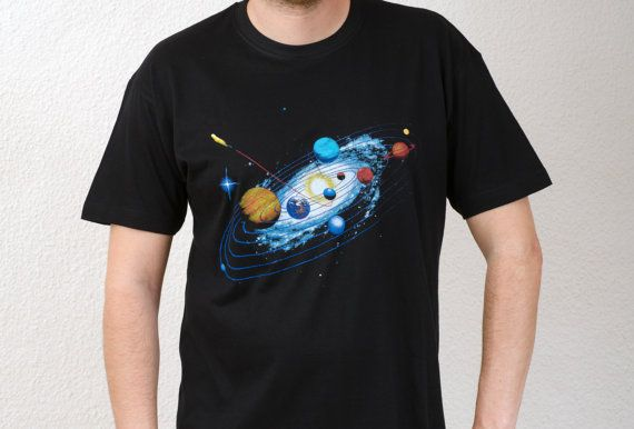 T shirt Space Voyage by Teever on Etsy, €16.00