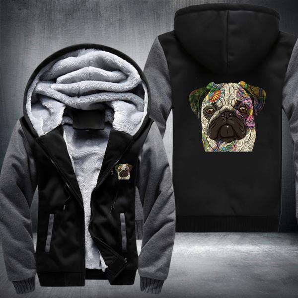 Pug Fleece Jacket