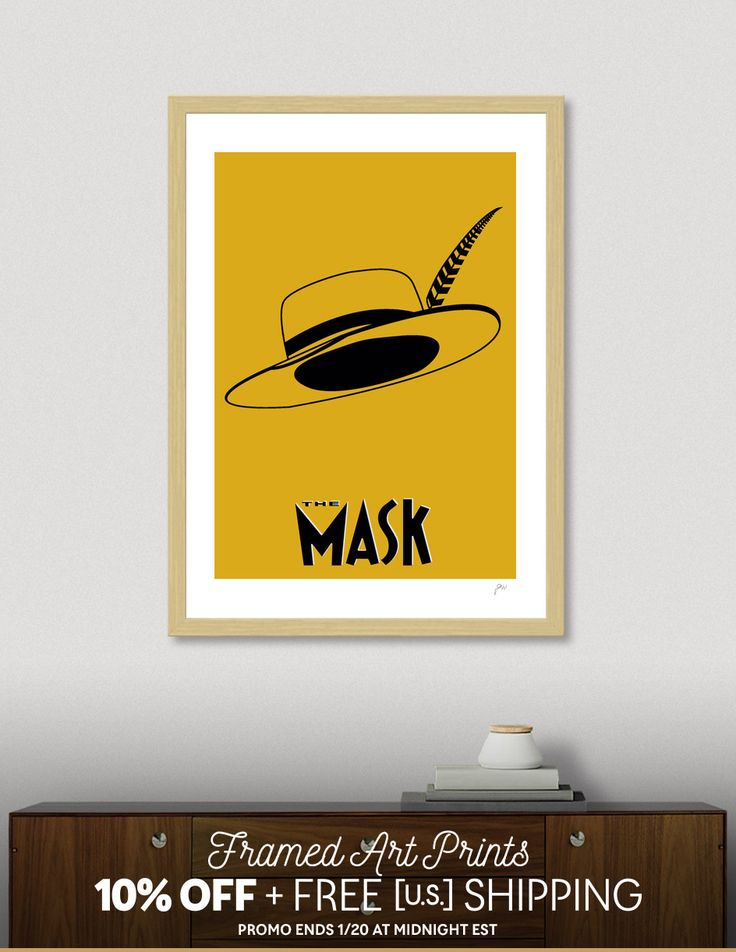Discover «The Mask», Exclusive Edition Fine Art Print by Omar Gonzalez - From 29€ - Curioos