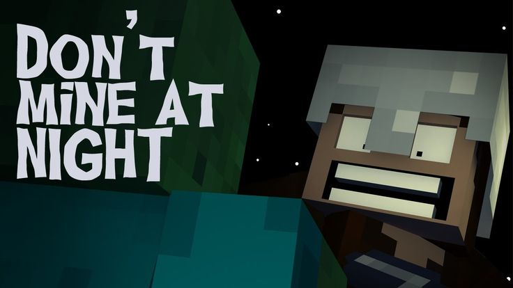 """""""Don't Mine At Night"""" - A Minecraft Parody of Katy Perry's Last Friday N..."""