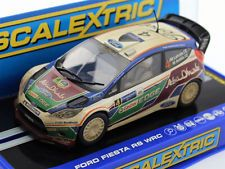 Scalextric C3300 Ford Fiesta RS WRC Rally Slot Car 1/32 for Carrera SCX