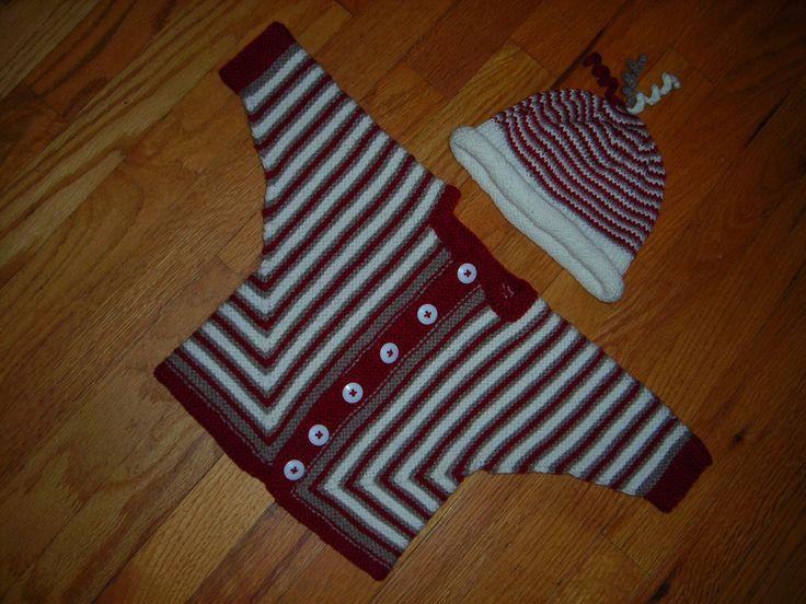 Ravelry: Mitred U Baby Jacket by Megan Mills