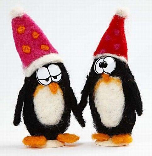 Nålefilta pingviner